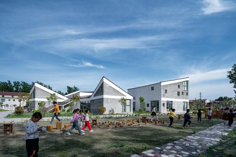 Jiangsu Beisha Kindergarten / Crossboundaries, © Qingshan Wu