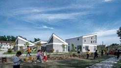 Jardim de infância de Jiangsu Beisha / Crossboundaries