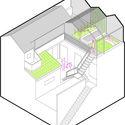 Axonométrica Mg / Marantz Arquitectura