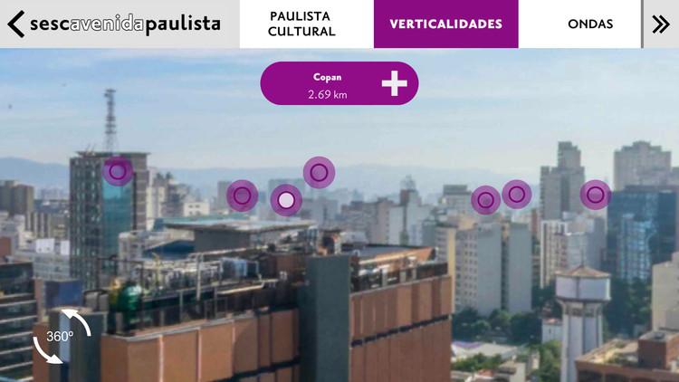 Veja o aplicativo com Realidade Aumentada e Imersão 360º do Sesc, Cortesia de Sesc Digital