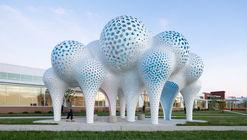 Pillars of Dreams Pavilion / MARC FORNES  / THEVERYMANY