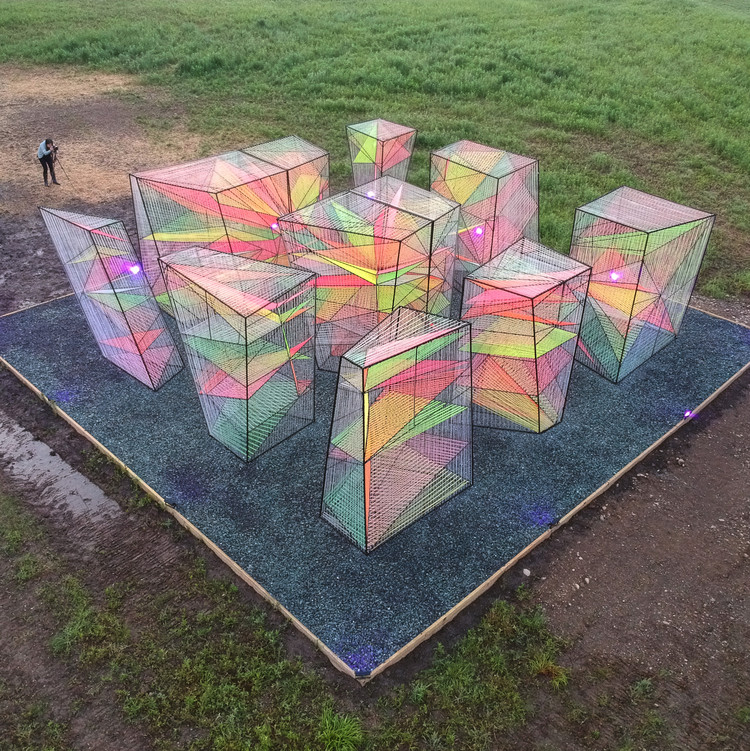 Prismatic Installation / Hou de Sousa, Courtesy of Hou de Sousa