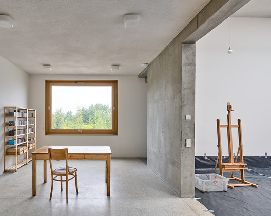Artists? Home and Studio  / Piotr Brzoza Architekten