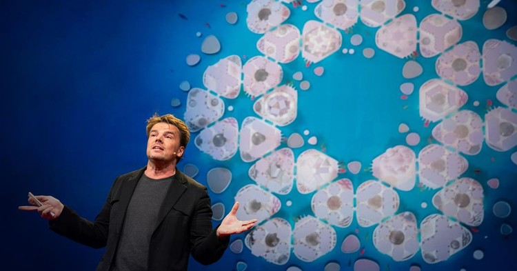 Bjarke Ingels' TED Talk on Floating Cities and the LEGO House, © TED