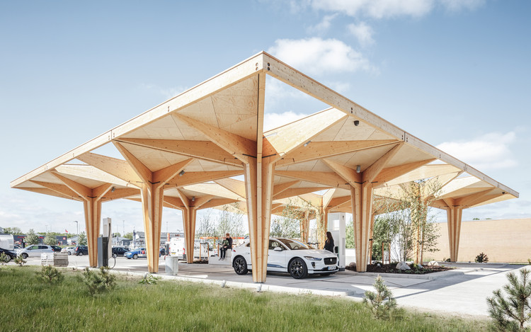 Ultra Fast Charging Station for Electric Vehicles / COBE, © Rasmus Hjortshøj - COAST