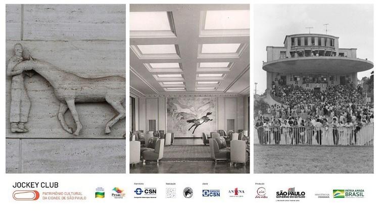 Exposição Jockey Club Patrimônio Cultural da Cidade de São Paulo, imagem de divulgação - Via das Artes