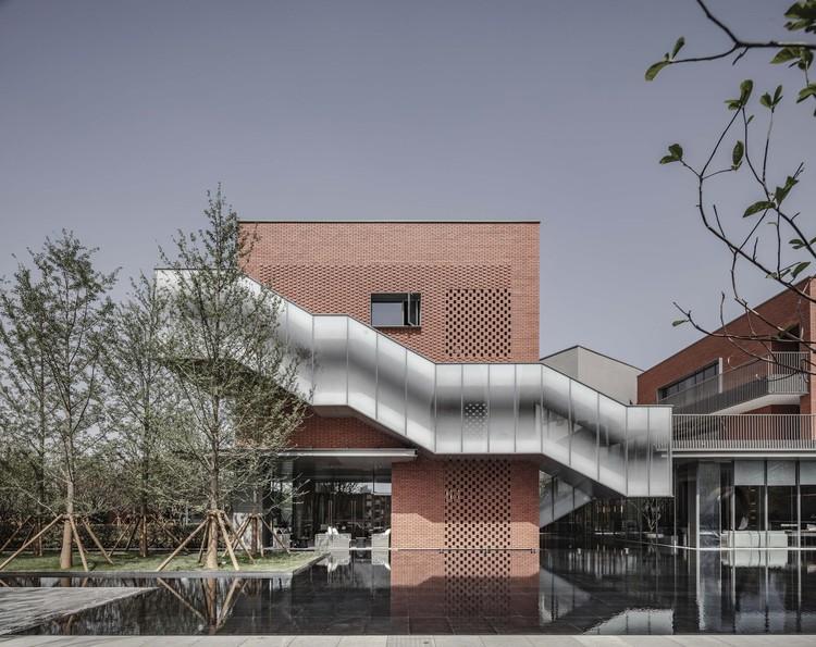 Dongyuan Yuejing Kindergarten / Chengdu Tianhua, facade. Image © Yang Yuan