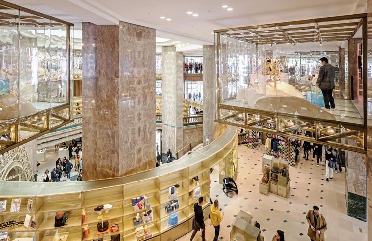 Galeries Lafayette Champs-Èlysèes / Bjarke Ingels Group, © Salem Mostefaoui