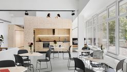 Impact Hub Berlin Office Interiors / LXSY Architekten