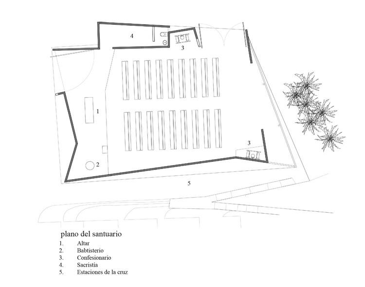 San Juan María Vianney Church / Enlace Arquitectura 1