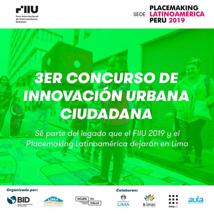 Convocatoria: 3° Concurso de Innovación Urbana Ciudadana