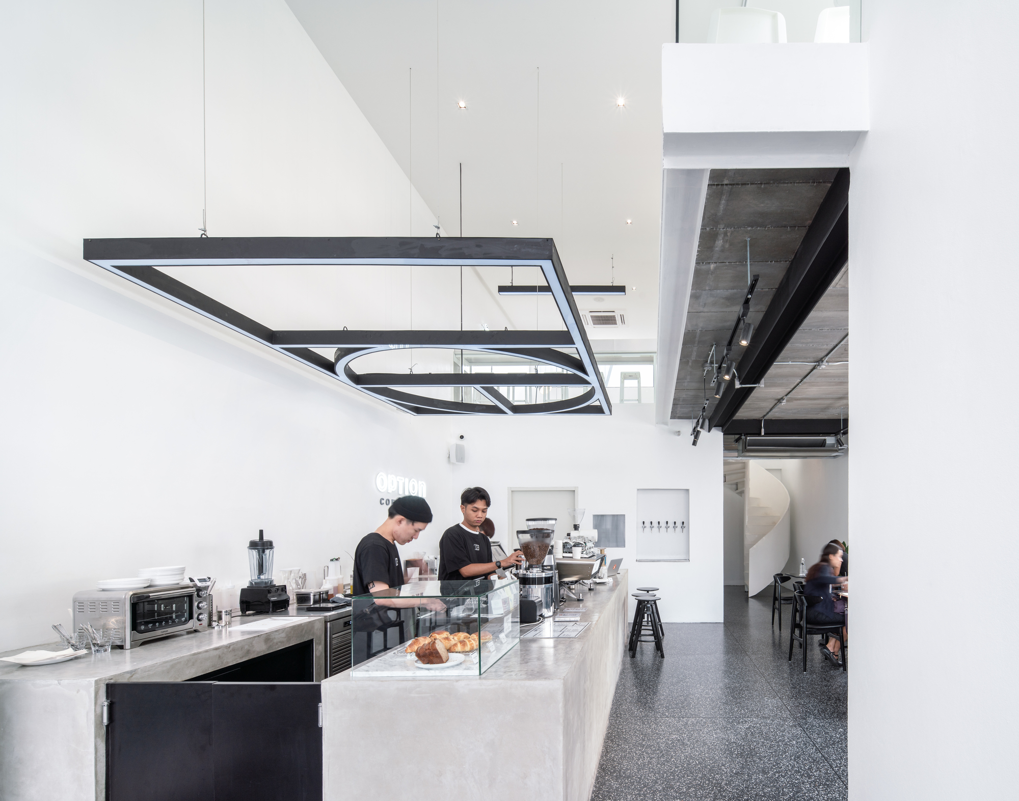 Option Coffee Bar Touch Architect Archdaily