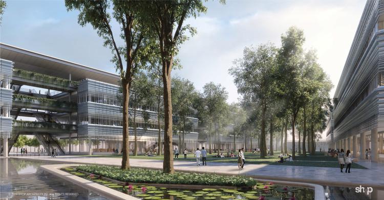 Fulbright University Vietnam. Image Courtesy of SHoP Architects