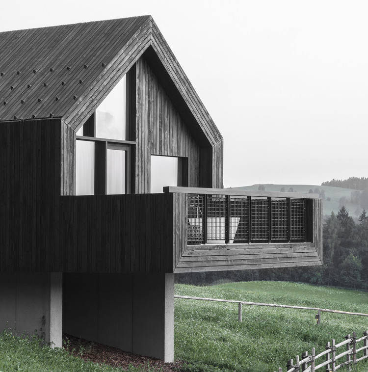 Fan Forest Houses / bergmeisterwolf architekten, © Gustav Willeit