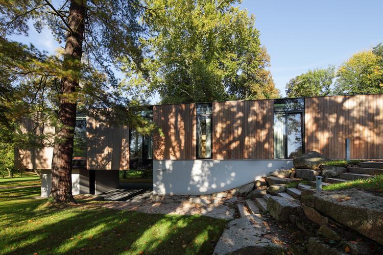 Casa en el parque / EA Architekti, © Aleš Ležatka