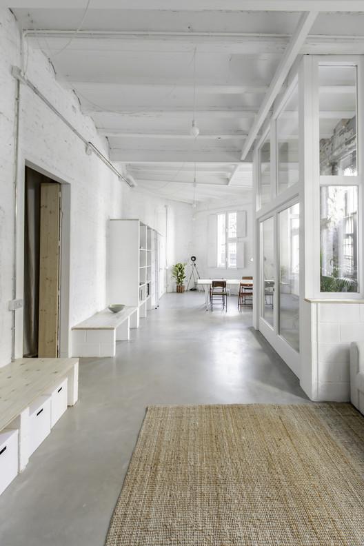 Casa Taller a Sants / andrea + joan arquitectes, © Joan Martí