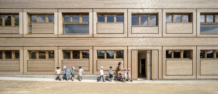 Escuela El Til·ler / Eduard Balcells + Tigges Architekt + Ignasi Rius Architecture, © Adrià Goula