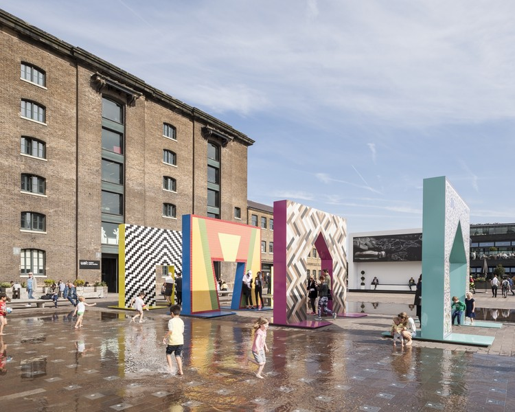 Gateways Installation / Adam Nathaniel Furman, © Andrew Matthews