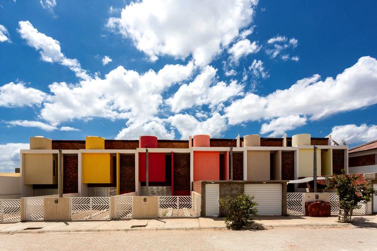 Sobrados Novo Jardim / Jirau Arquitetura, © Antonio Preggo