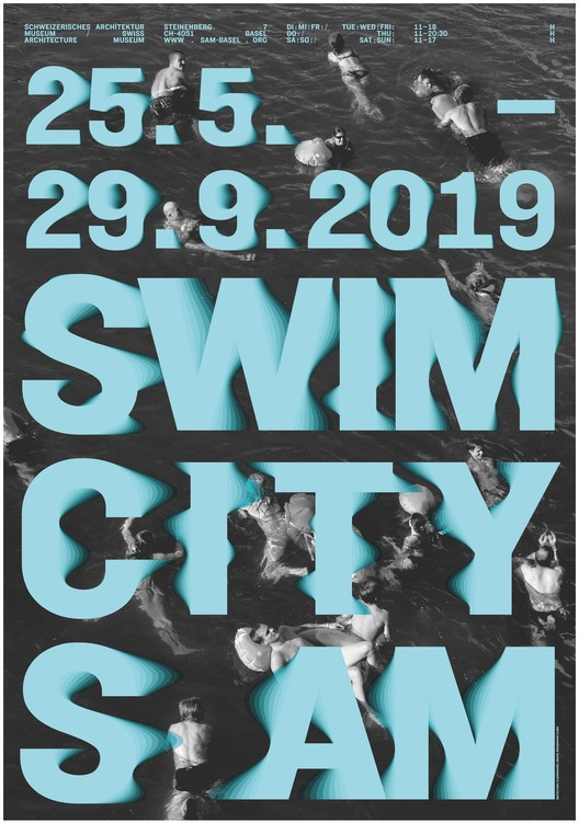 Swim City, The poster of the exhibition, Claudiabasel (2019)