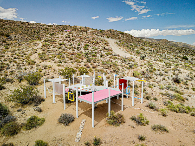FIELDWORKS Celebrates Design-Build in California's High Desert, © Zeno Legner