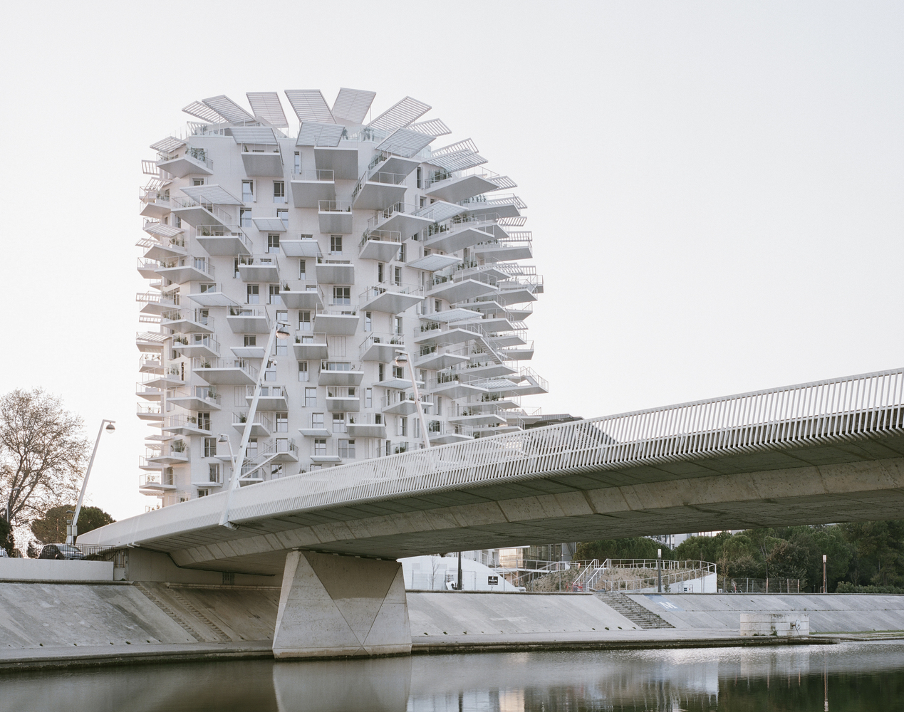 L'Arbre Blanc Residential Tower / Sou Fujimoto Architects + Nicolas Laisné + OXO architects + Dimitri Roussel
