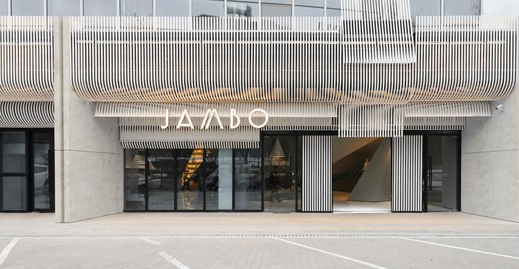 Facade Design of Jambo Arts Hotel / FAR WORKSHOP, © Jie Zi