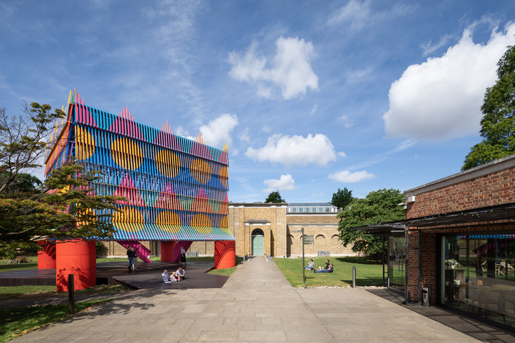 The Colour Palace Pavilion / Pricegore + Yinka Ilori, © Adam Scott