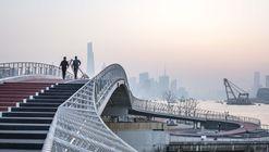 Yangjing Canal Pedestrian Bridge / Atelier Liu Yuyang Architects