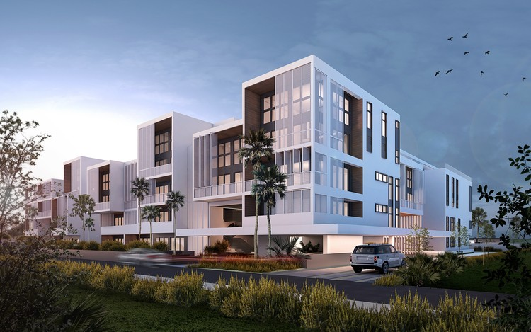 Atelier Reach Breaks Ground on New Housing Model in the Dominican Republic, The Flats. Image Courtesy of Atelier Reach