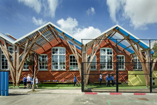 Westborough Primary School / Cottrell & Vermeulen Architecture Ltd.. Image © Anthony Coleman