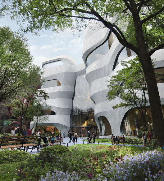 Studio Gang Breaks Ground on Museum of Natural History Expansion in New York, Courtesy of Studio Gang