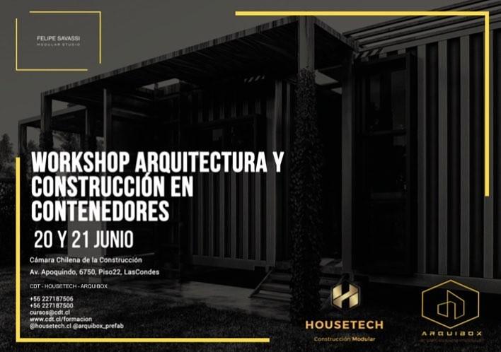 Workshop Arquitectura y Construcción en Contenedores
