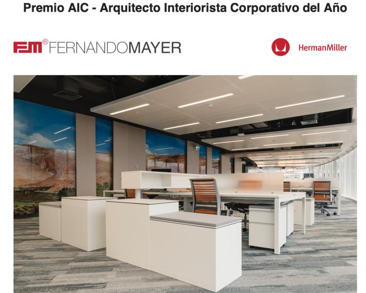 Premio  AIC - Arquitecto Interiorista Corporativo del Año