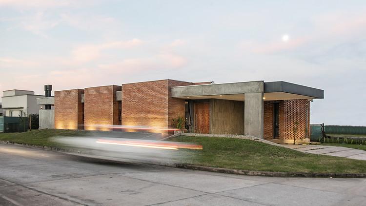 Casa quintas / Etéreo Arquitectos, © Jimena Montenegro