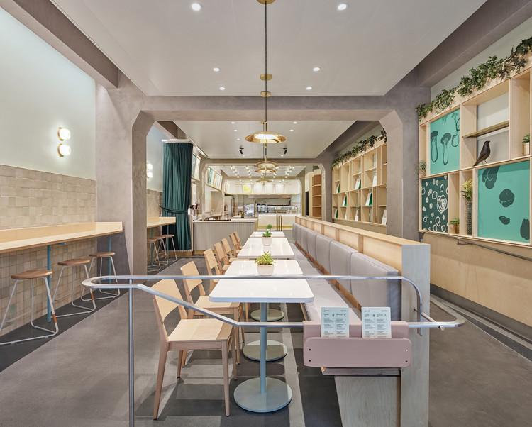 Junzi Kitchen Chinese Restaurant Xuhui Zhang Archdaily