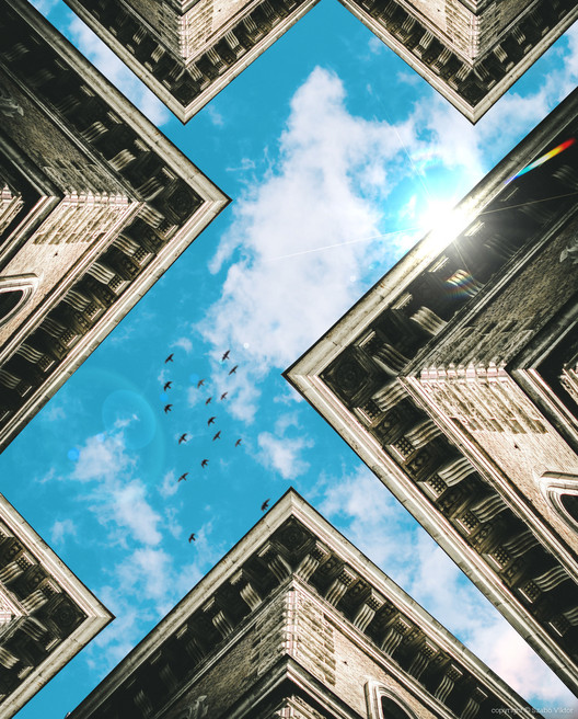 Photographer Manipulates Architecture to Create an Imaginary World