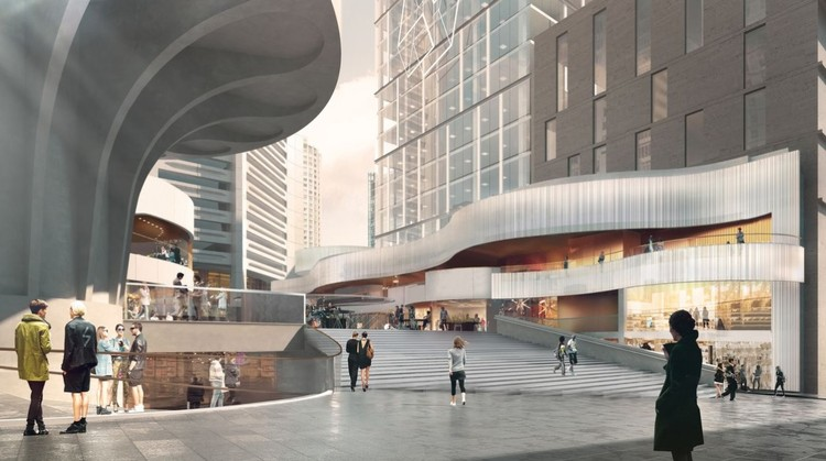 Woods Bagot and Seidler Begin MLC Centre Redevelopment in Central Sydney, Courtesy of Woods Bagot, Harry Seidler and Associates