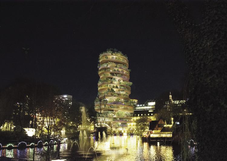 BIG Designs 18-Story Pagoda for Tivoli in Copenhagen, Courtesy of Bjarke Ingels Group
