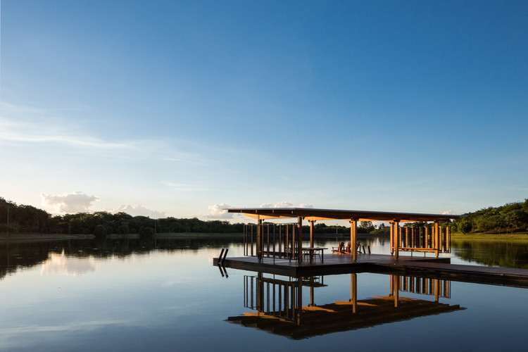 Pavilhão Flutuante / Bruno Rossi Arquitetos, © André Scarpa