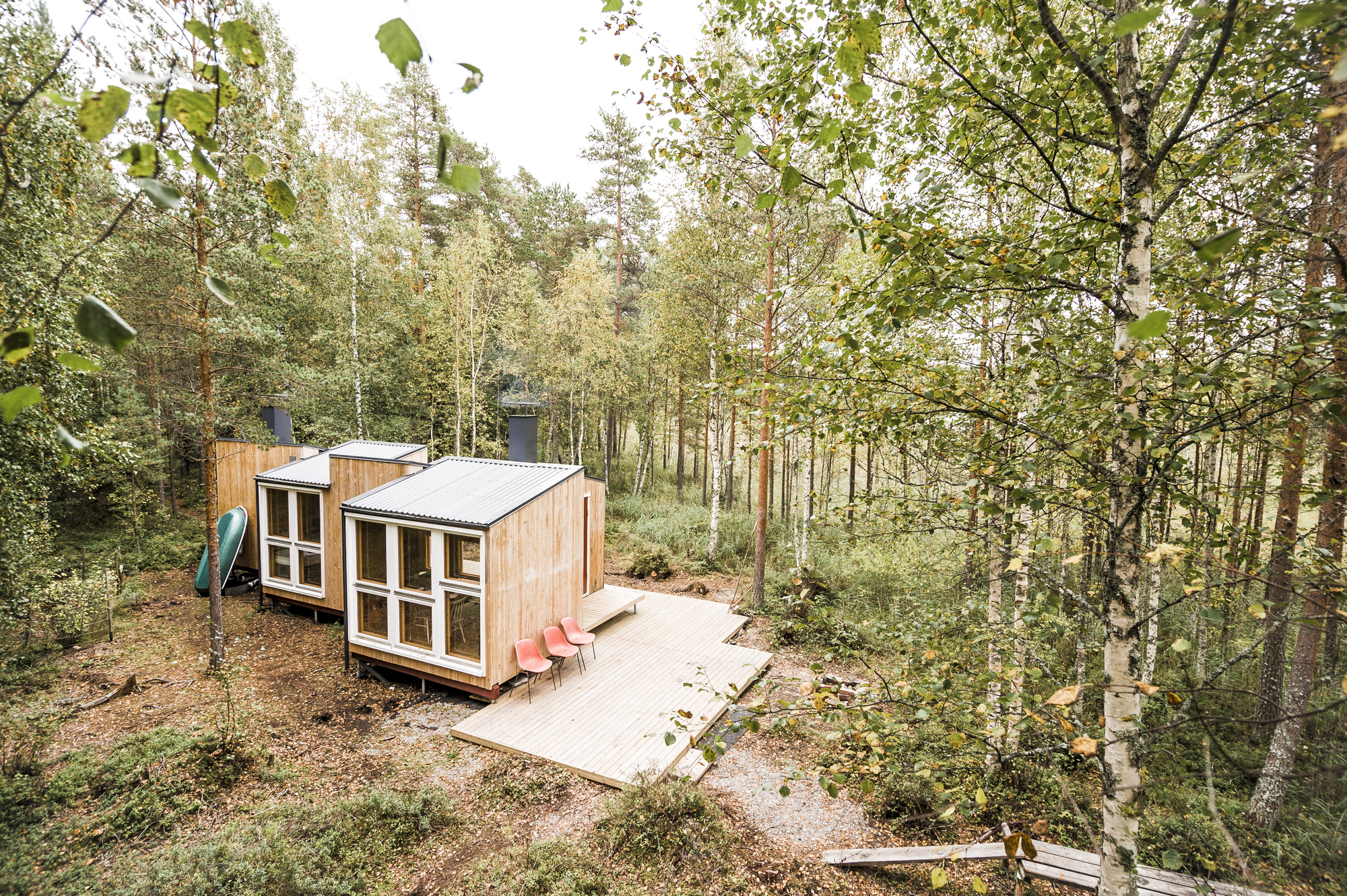 Small but Fine Cabin / studio politaire