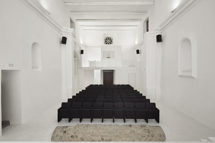 Transformation of Saint Rocco's Church into a Theater / Luigi Valente + Mauro Di Bona, © Stefano Pedretti