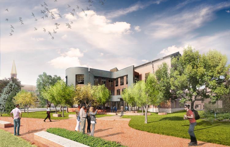 LAKE|FLATO and SA+R Break Ground on University of Denver's New Campus Hub, Courtesy of Lake|Flato and SA+R