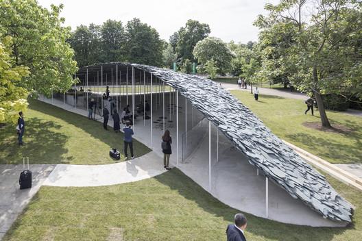 2019 Serpentine Pavilion. Image © Laurian Ghinitoiu