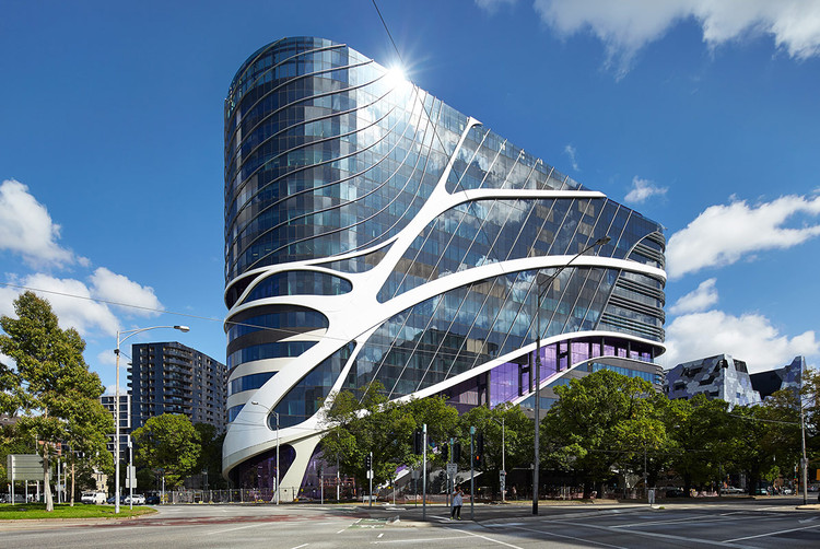 Victorian Comprehensive Cancer Care Hospital (VCCC) / STHDI+MCR. Image Courtesy of Shapeshell