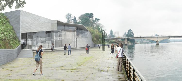 Comenzarán las obras de restauración y ampliación del Museo de Arte Contemporáneo en Valdivia, © MAC Valdivia