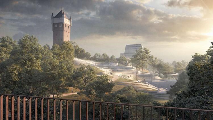 Henning Larsen and Topotek 1 Win Competition to Revitalize Denmark's Esbjerg Bypark, Courtesy of Henning Larsen