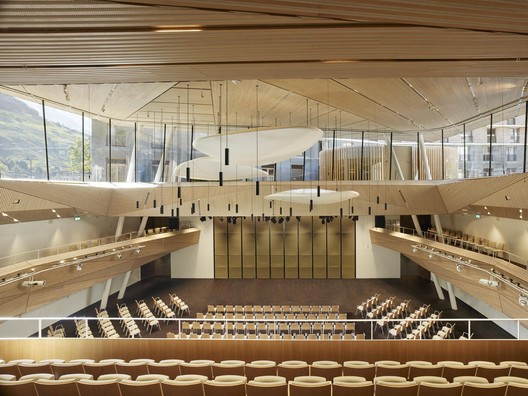 Andermatt Concert Hall / Studio Seilern Architects