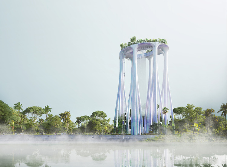 XTU Reveal Singapore Monument Inspired by Tropical Forests, © XTU