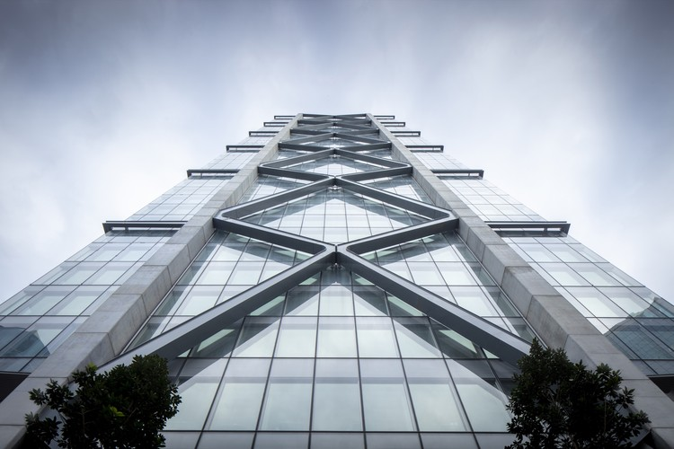 SOM and Architectus Complete Sydney Exoskeleton Tower, © Brett Boardman